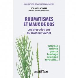 Rhumatismes et maux de dos Les prescriptions du Dr Valnet