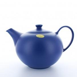 """Théière """"Boule"""" Bleu mat"""