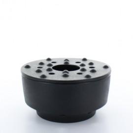 Chauffe théière noir