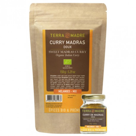 Curry de Madras doux /35g