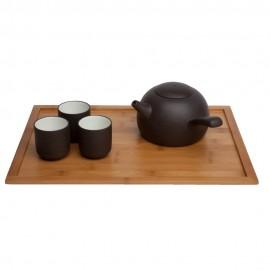 Plateau à thé en bambou