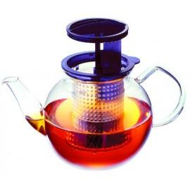 Théière en verre : Tea Control 1,2l