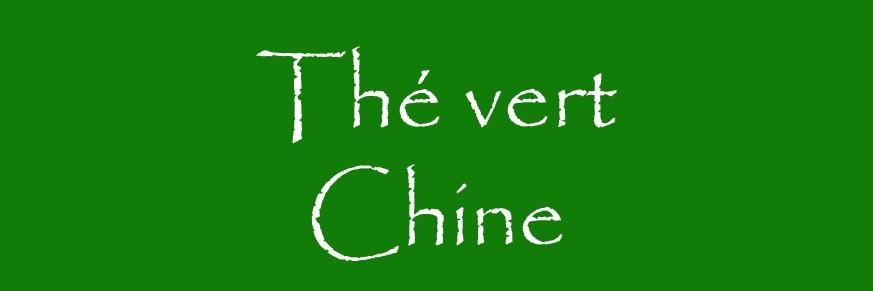 Thé vert de Chine Bio