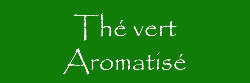 Thé vert aromatisé Bio